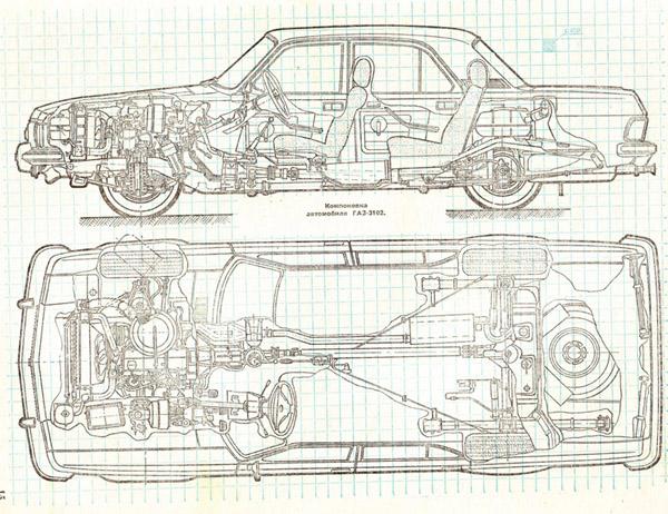 Панель приборов ГАЗ-3102