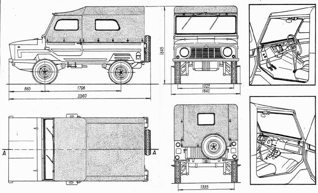 ЛуАЗ-969 был первенцем