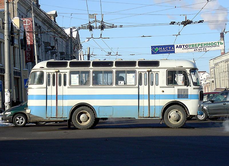 ПАЗ-672, автобус малого класса